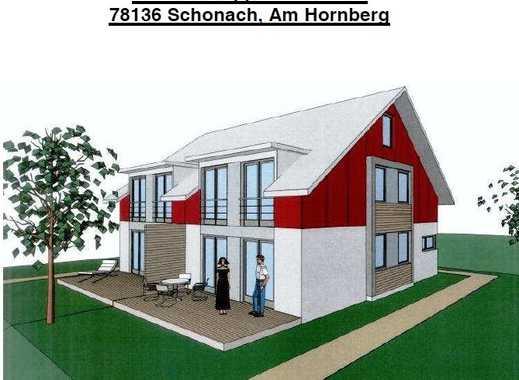 Neubau-Doppelhaushälfte in Schonach inkl. Grundstück