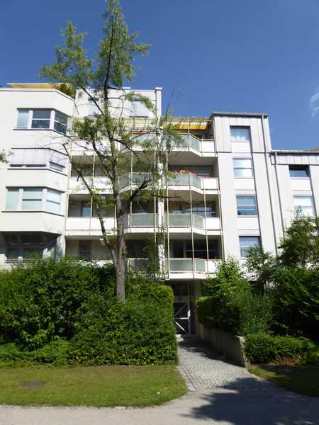 Gepflegte, möblierte 3-Zimmer-Gartenwohnung im  Arabellapark/Bogenhausen in Bogenhausen (München)