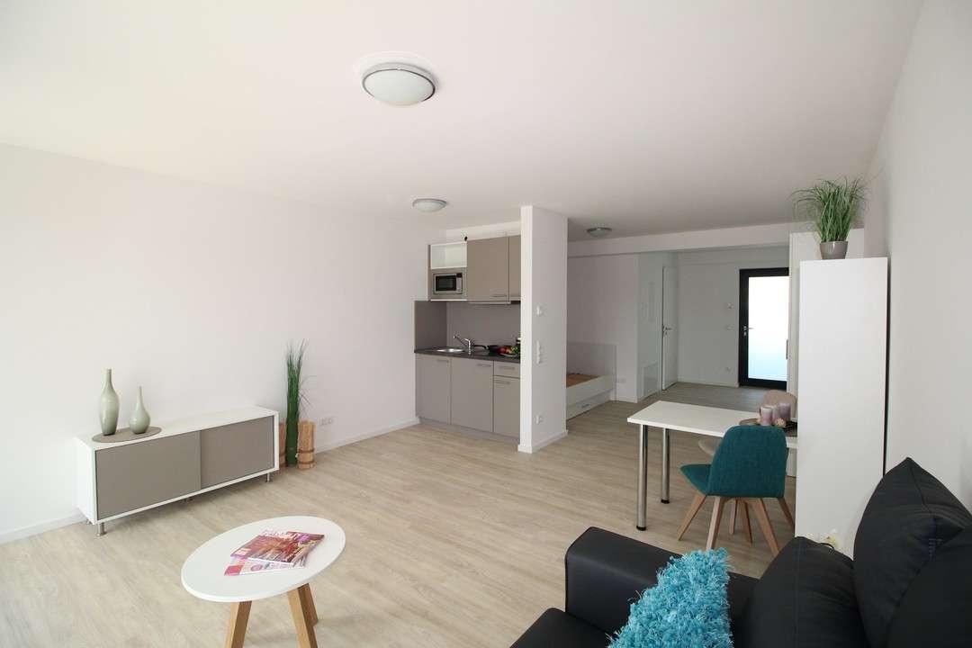 *möbliertes 1-Zi Apartment - Balkon zum Innenhof*