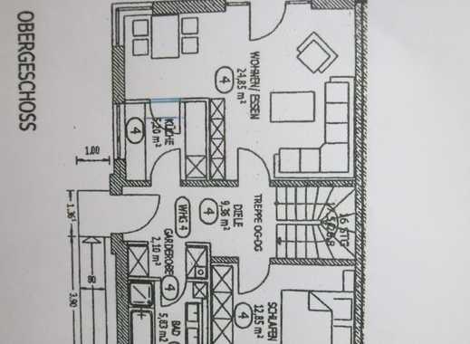 Attraktive 3,5-Zimmer-Maisonette-Wohnung mit Balkon