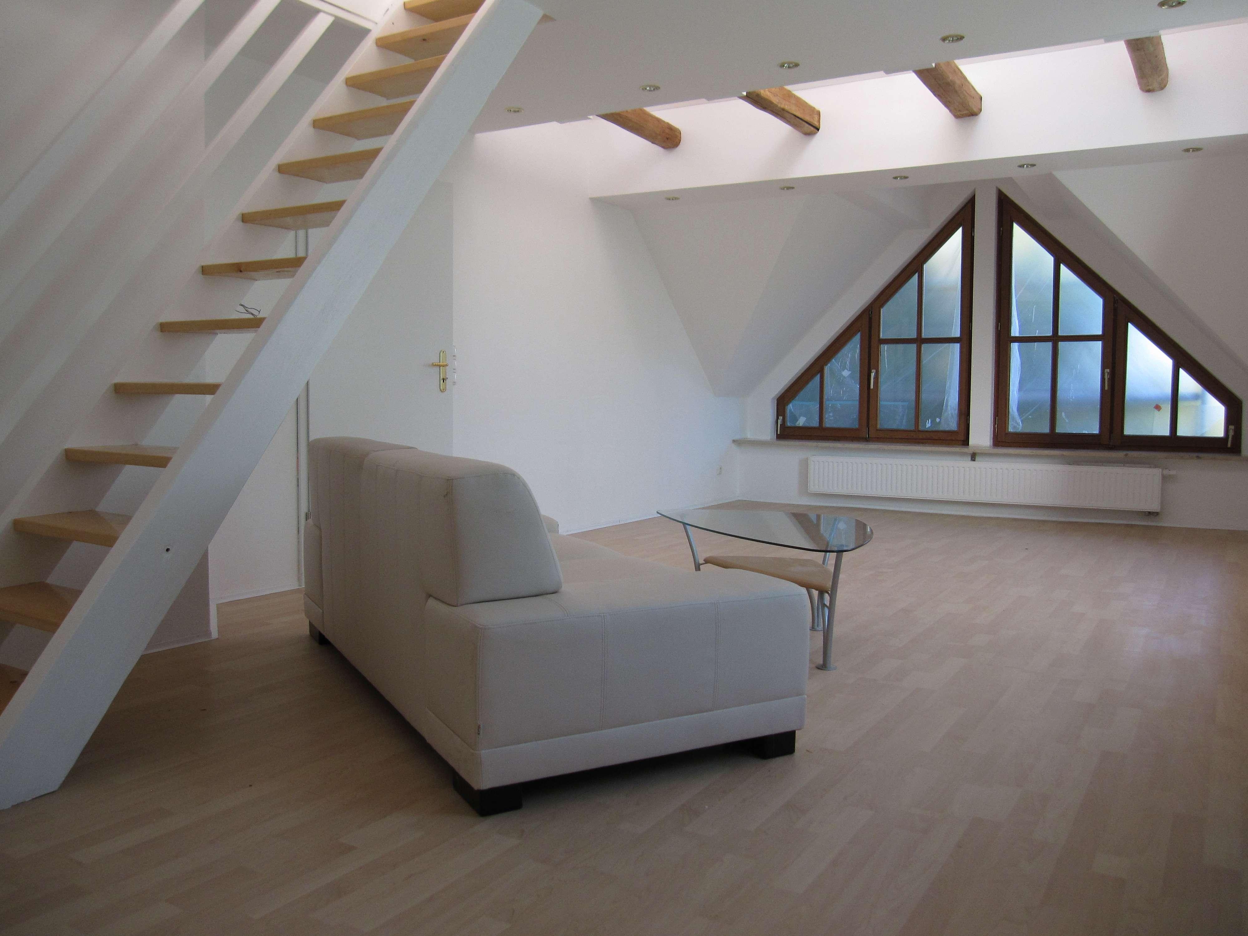 Neuwertige 1-Zimmer-Maisonette-Wohnung mit Einbauküche in Memmingen in Memmingen-Innenstadt
