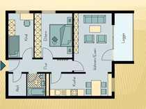3 Zimmer Wohnung mit Aussicht