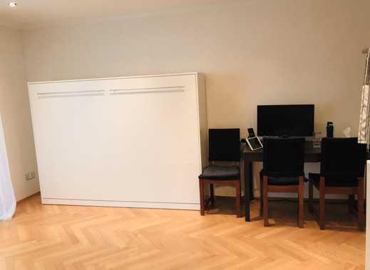 Ruhige und sonnige, möblierte Studio in Alt Solln, nähe S7