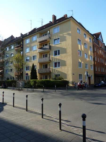 Renovierte, große 1-Zimmer-Wohnung in Galgenhof (Nürnberg)