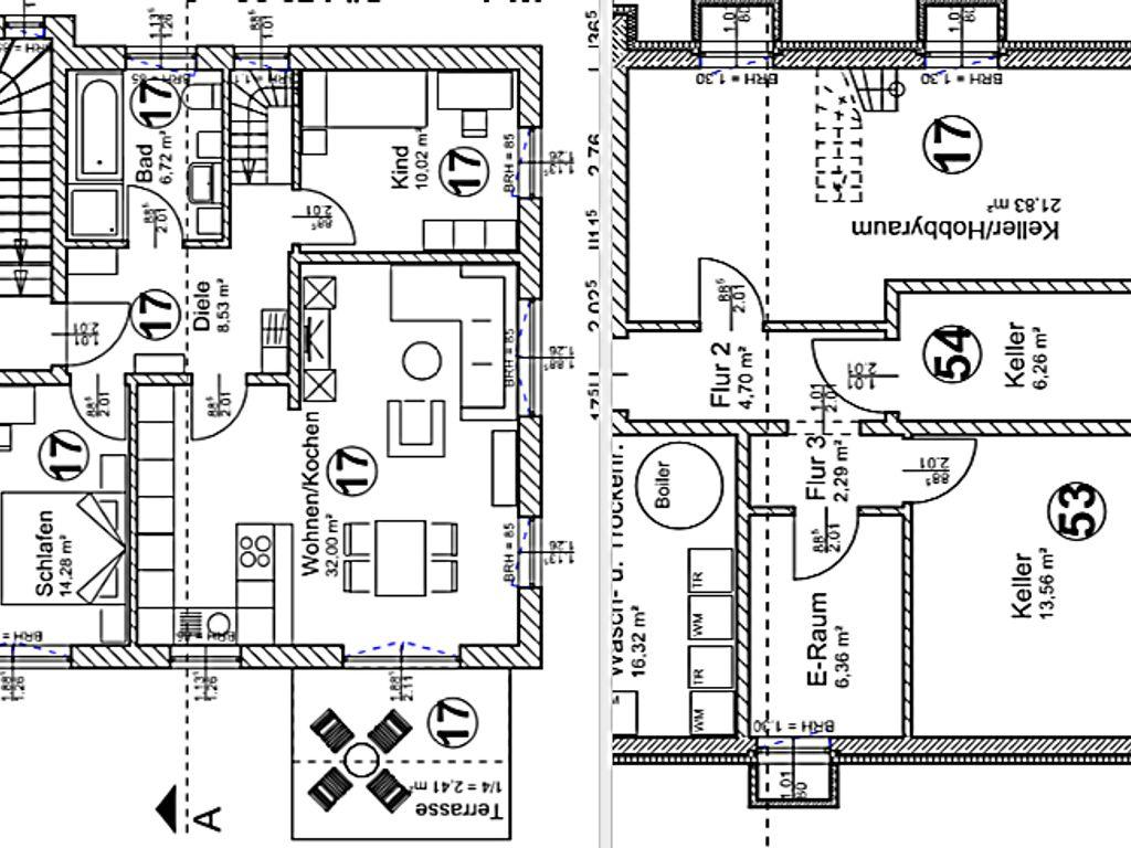 Was Ist Souterrain 5 zi etw über 2 etagen eg souterrain garten und 2 hobbyräume im