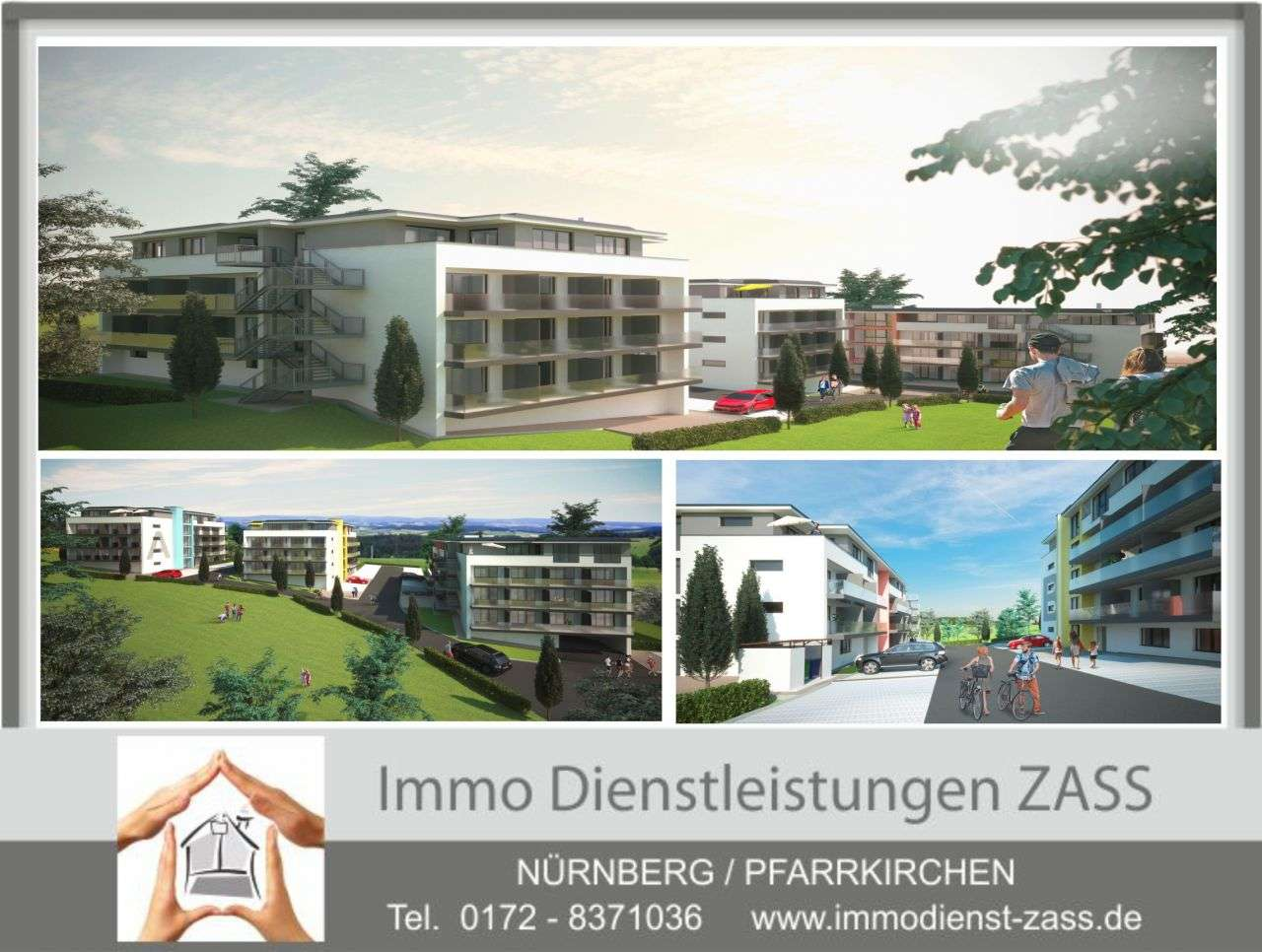 (ERSTBEZUG) Voll möbliertes 1-Zimmer Apartment mit Balkon & Stellplatz in Pfarrkirchen