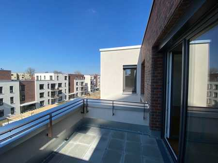 NEUBAU/ERSTBEZUG! Exklusive 3-Zi-Neubau-Wohnung im Textilviertel in Augsburg-Innenstadt