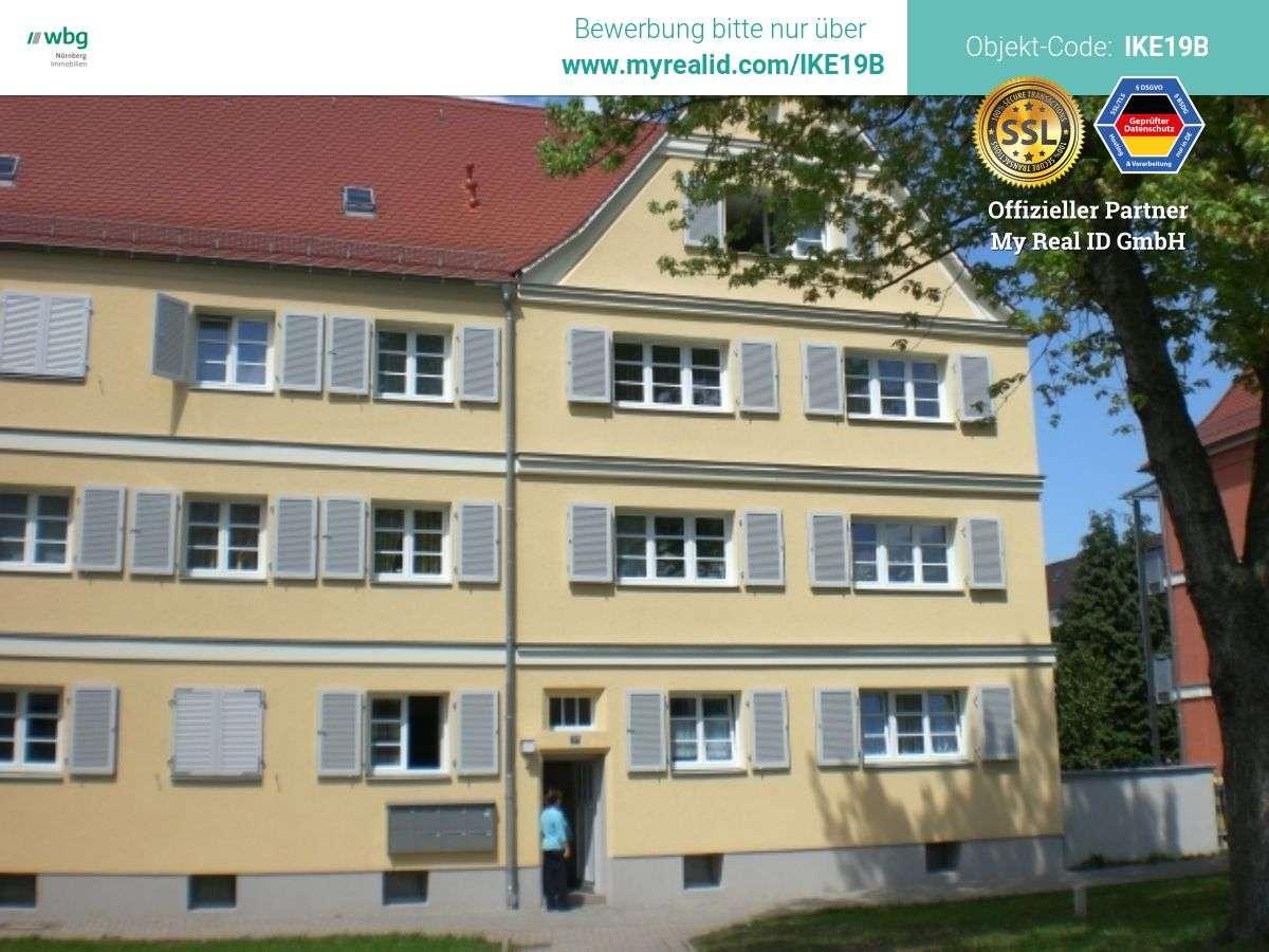 Idyllisch gelegene Wohnung mit großem Wohn-/Essbereich im Herzen Mögeldorfs