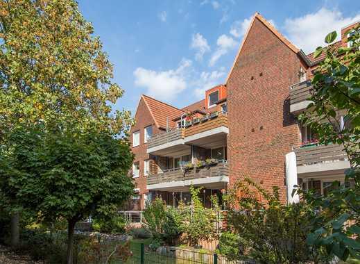 CLASSIC IMMOBILIEN: 3 ½ Zimmer – Maisonette - Wohnung  mit großem Dach-Balkon