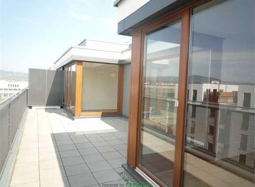 Penthouse mit Komfort und Eleganz, 4-Zimmer-2 Bäder-große Sonnen-Dachterrasse