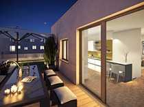 Außergewöhnliche 4-Zimmer-Maisonette-Wohnung mit Dachterrasse und