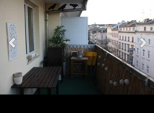 Schöne 1-Zimmer-Wohnung zum Wohlfühlen mit Balkon und Einbauküche in zentraler Innenstadtlage