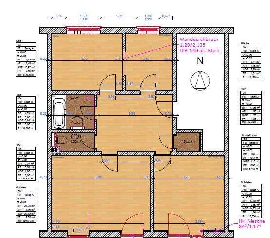 Vollständig renovierte 3-Zimmer-Erdgeschosswohnung mit  Terrasse in Regensburg