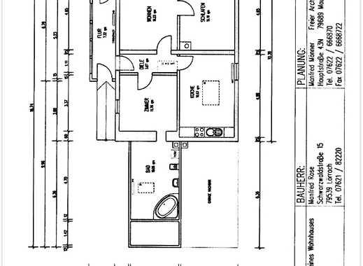 Modernisierte 3-Zimmer-Wohnung mit EBK in Lörrach