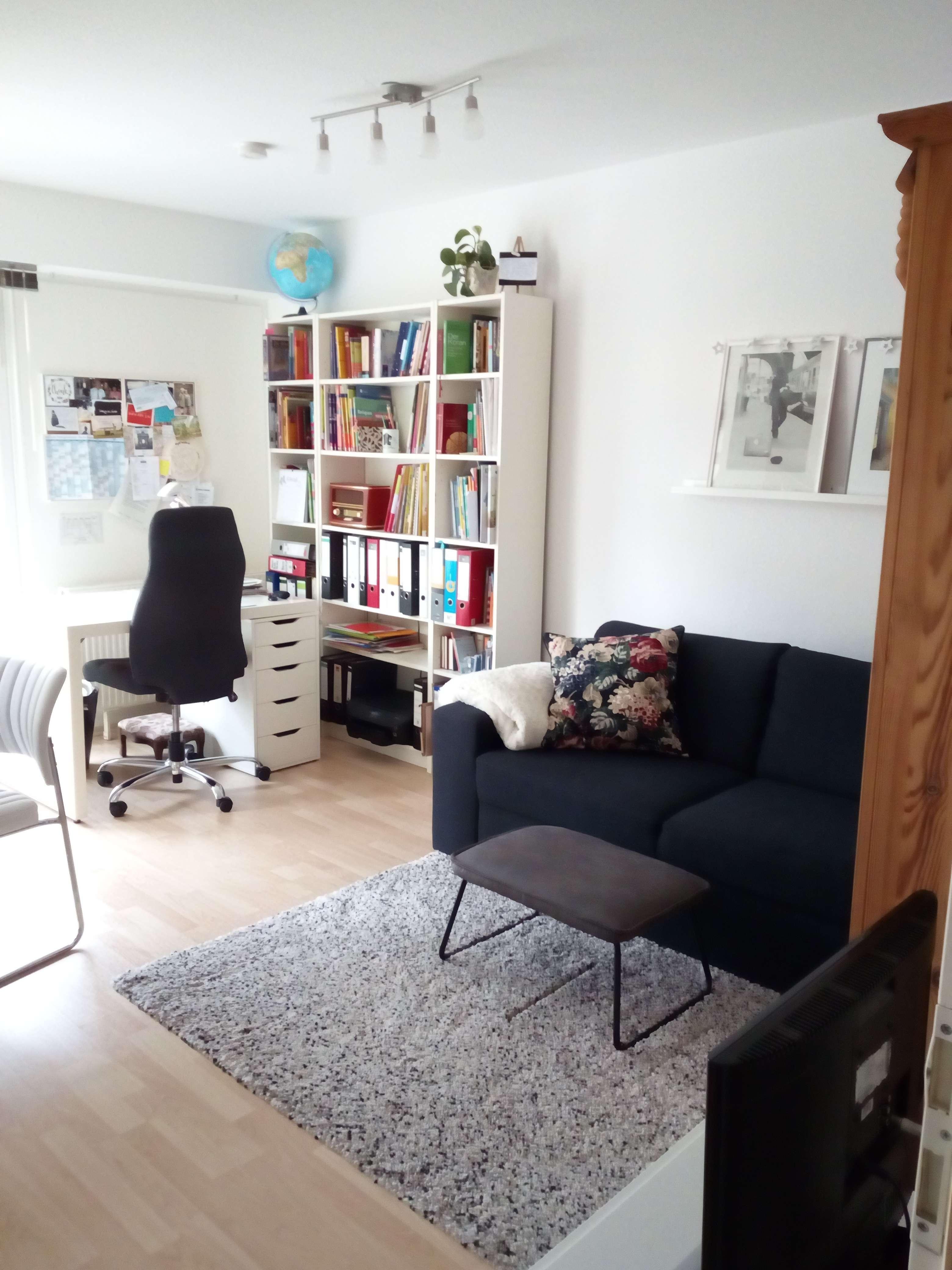 Wunderschön geschnittene 1-Zimmer-Wohnung mit Balkon und Küche in Bogenhause in Bogenhausen (München)