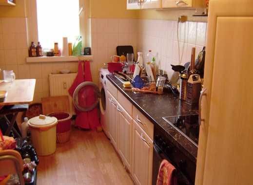 Biete helles, 16qm großes, Zimmer in 3Raumwohnung  mit Wohnzimmer