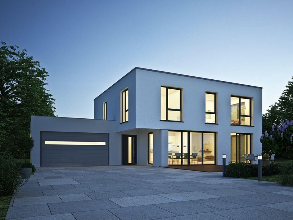nymphenburg exklusive efh villa im bauhausstil in einer der besten lagen m nchens. Black Bedroom Furniture Sets. Home Design Ideas