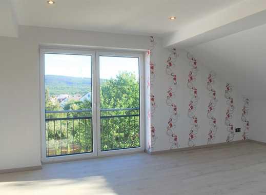 EINMALIG - Sonnige DG-Wohnung mit moderner Innenausstattung in Rheinböllen - Erstbezug ab sofort