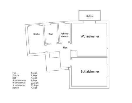 Möblierte, sanierte 2,5-Zimmer-Wohnung mit Balkon und EBK in Ludwigsvorstadt-Isarvorstadt, München in Ludwigsvorstadt-Isarvorstadt (München)
