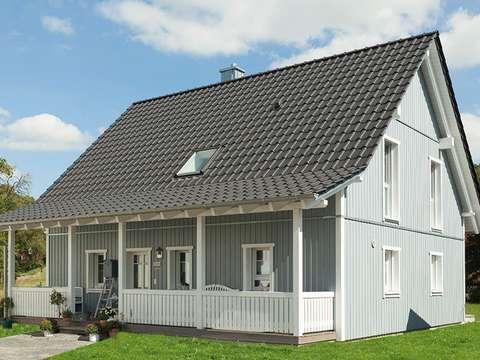 Skandinavisches haus grundriss  Skandinavisches Flair oder Urlaub Zuhause - Ein Traum in Holz