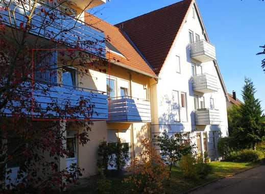 Möblierte 2-Zimmer-Wohnung 42m² in Herrenberg-Oberjesingen - sofort frei!