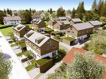 Neubau Architektenhäuser - Doppelhaushälfte in sonniger