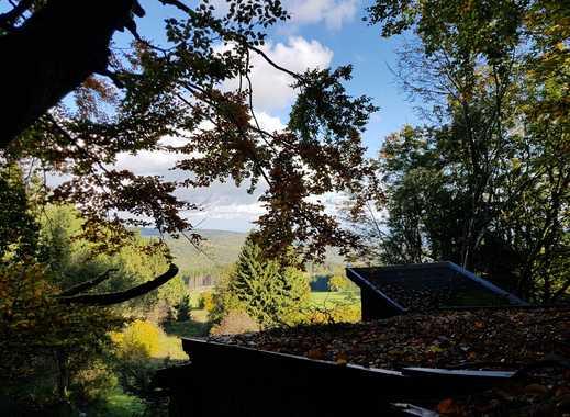 Wochenenddomizil in der Hochrhön. Alleinlage mit 1ha Wald- und Wiesengrundstück