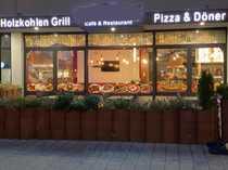 Schickes Restaurant mit Außenbereich in