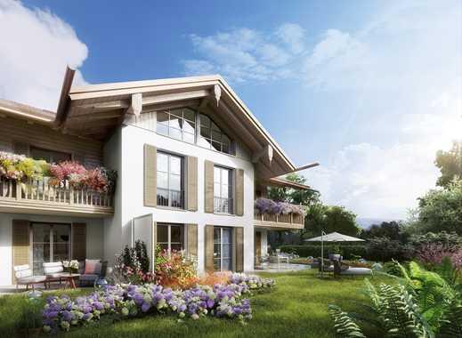Freiraum und Privatsphäre für Anspruchsvolle! Traumhaft Wohnen am Tegernsee mit ca. 418 m² Garten