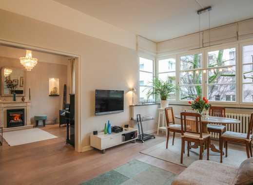 REUTER IMMOBILIEN Komfortable Dreizimmer-Altbauwohnung mit Balkon in schöner Wohnlage Neuehrenfeld