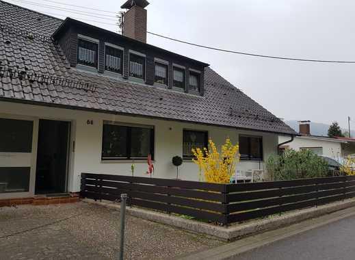 4,5-Zimmer-EG-Wohnung mit großem Balkon und Einbauküche in Neckargemünd