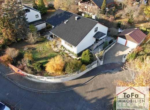 ToFa: großes Mehrgenerationenhaus mit ELW+2 Garagen+2 Stellplätze+ 2 Kamine+Indoor-Pool- top Zustand