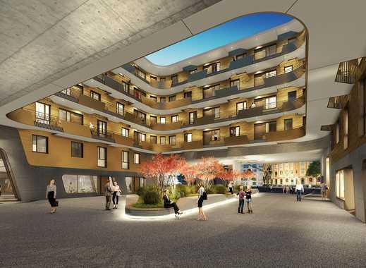 PANDION DOXX Micro Apartment - Kompakte 1-Zimmer-Wohnung auf ca. 39 m² mit Wasserblick.