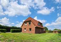 Einfamilienhaus in Vollersode mit Ausblick