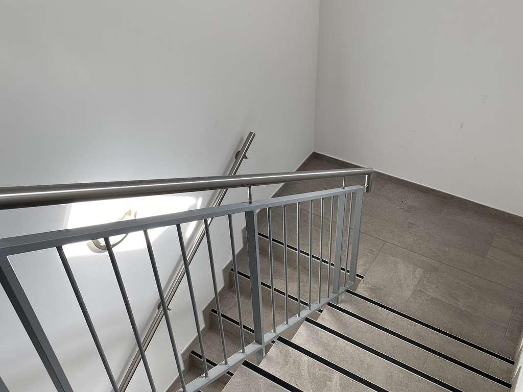 Treppenhaus der kl. Wohnanlage