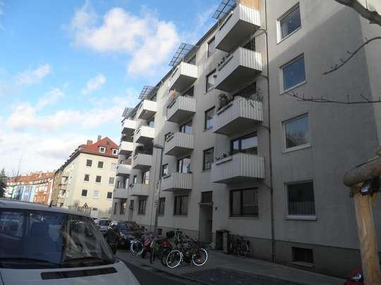 Große 2-Zimmer Wohnung mit Balkon in der Südstadt, Große Barlinge 59