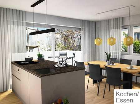Neubau-Erstbezug: Luxus 3-Zimmer-Wohnung mit EBK, Design Interieur und zwei Balkone in Passau in Grubweg (Passau)