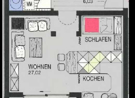 Exklusive, geräumige und gepflegte 1-Zimmer-Wohnung mit Balkon und EBK in Nürnberg