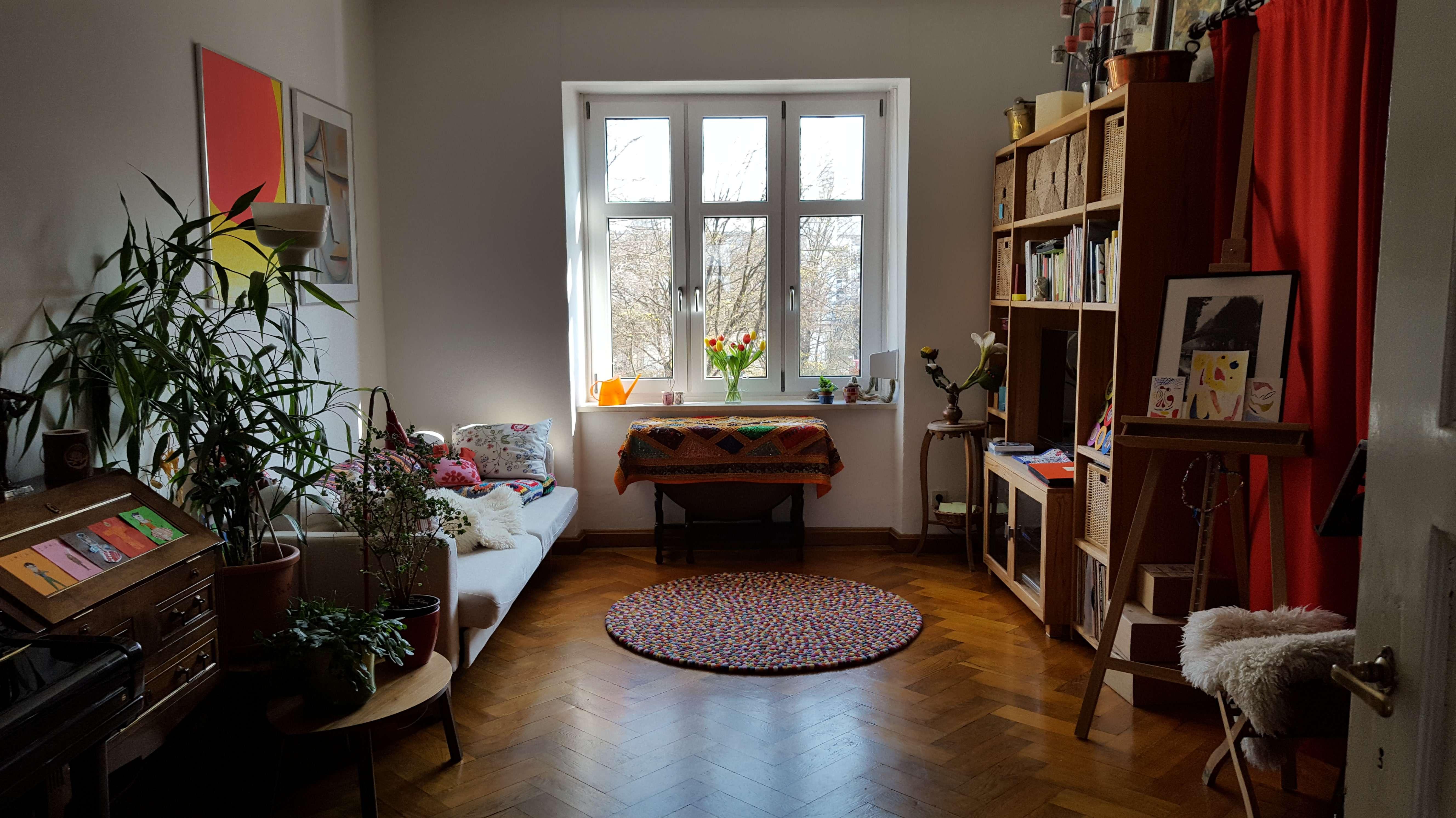 Stimmungsvolle 3-Zimmer-Altbau-Wohnung in Haidhausen, München