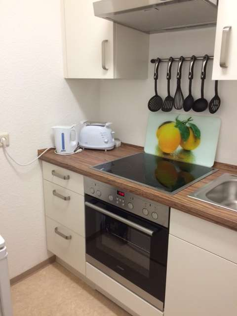 1-Zi.-App. inkl. Einbauküche in zentraler Lage von Coburg - Nähe Kino
