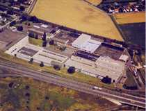 Produktions- und Lagerhallen mit Sprinkleranlage