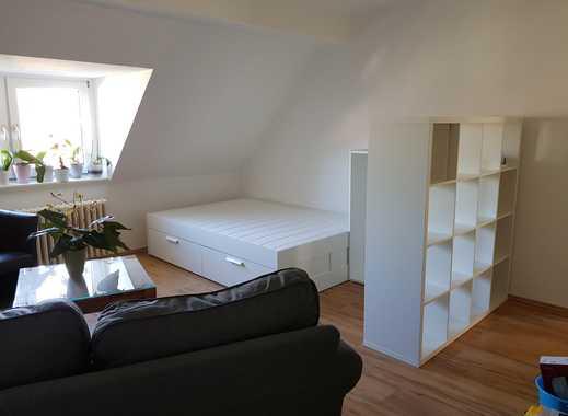 komplett möbliertes Zimmer für Mitbewohnerin in Meiderich mit guter Verkehrsanbindung