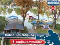 Berlin - Müggelheim Wassergrundstück mit Bootsstegen -