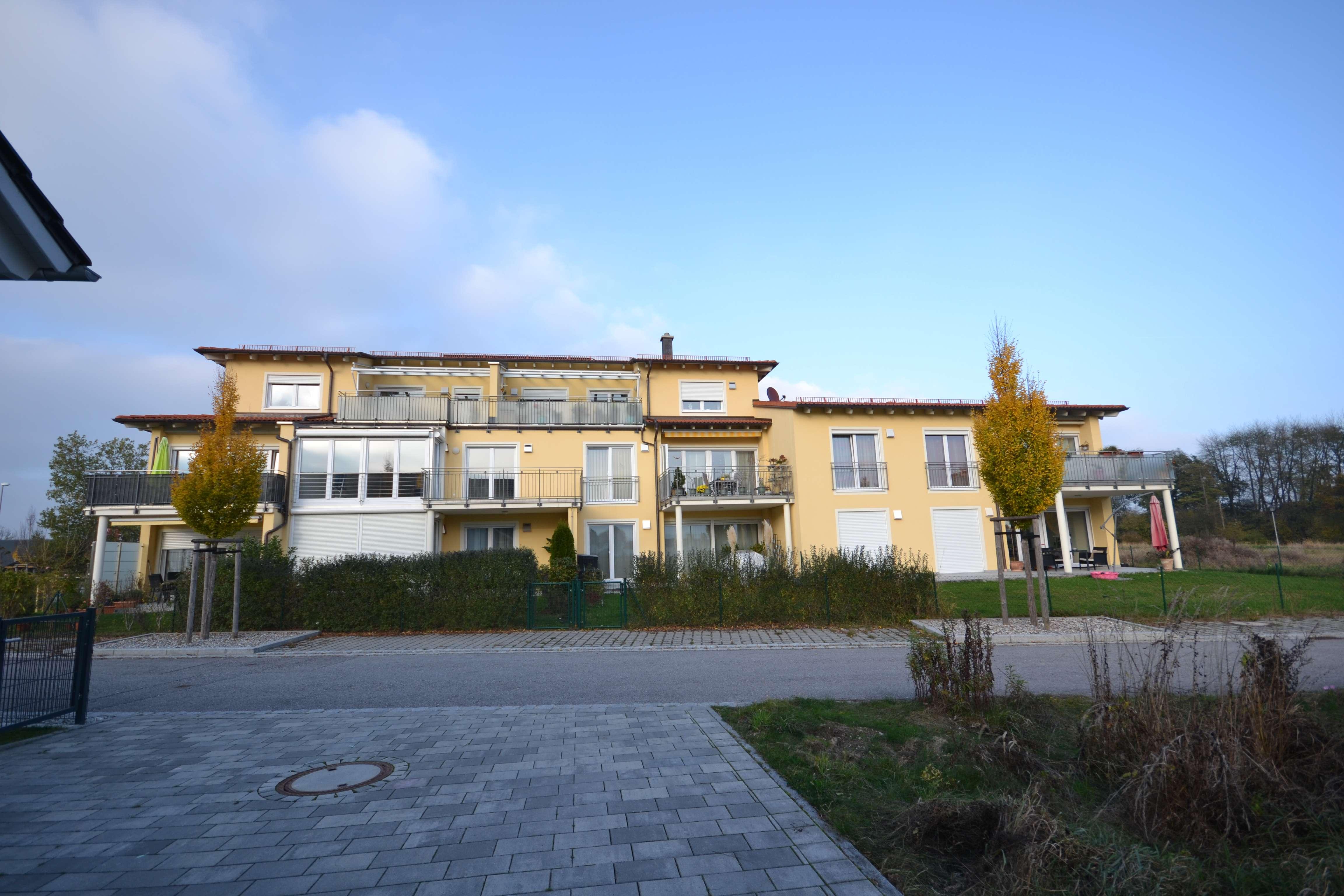 Exklusive Wohnanlage im mediterranen Stil (10 Wohneinheiten) 2 Zimmerwohnung Mühldorf SÜD in Mühldorf am Inn