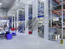 Moderne Lagerflächen 900 qm Büro-