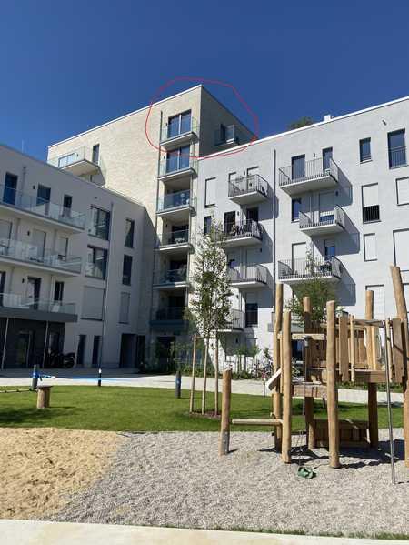 Erstbezug mit EBK und Balkon: Helle 1,5-Zimmer-Wohnung in Aubing, München in Aubing (München)