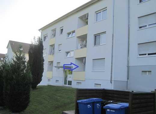Neckarzimmern - sonnige 3,5-Zimmerwohnung im Erdgeschoss
