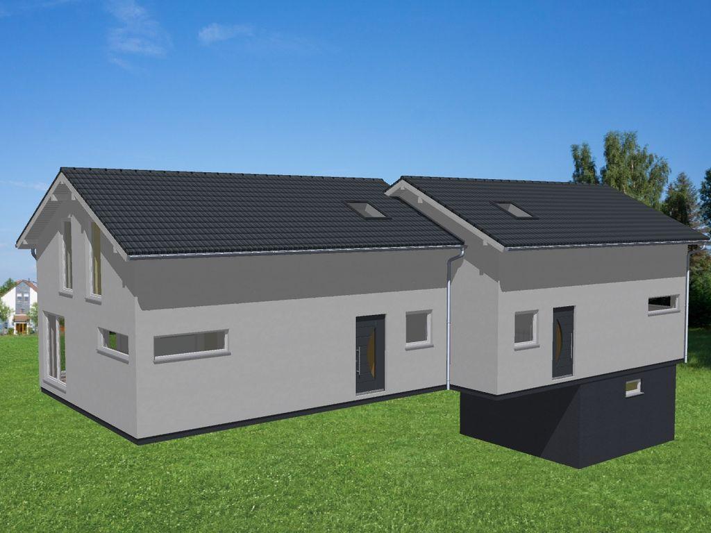 Ossenpadd 8 Doppelhaus 200cm v
