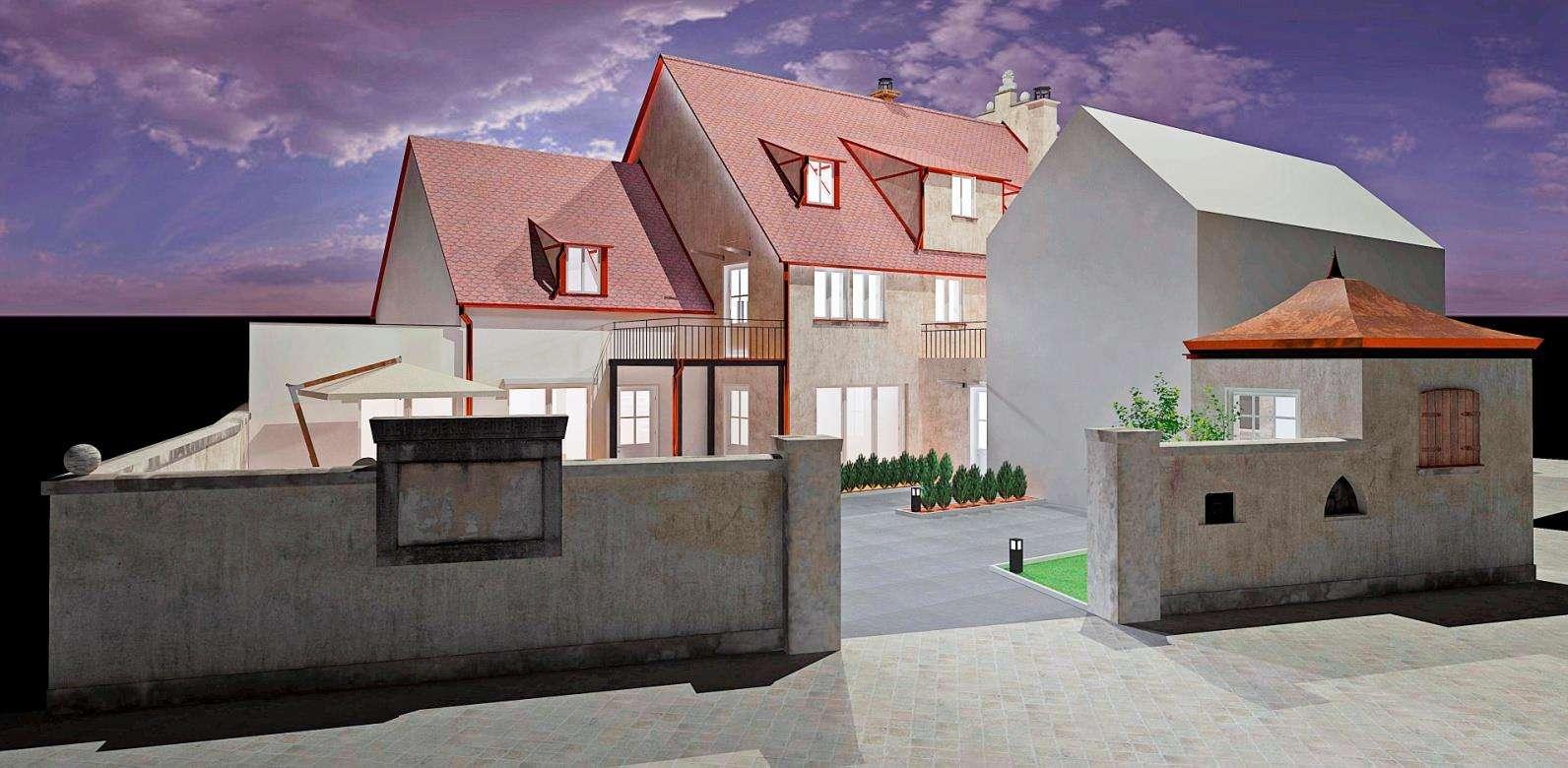 Moderne 1-Zimmer Wohnung im renovierten Denkmalobjekt in