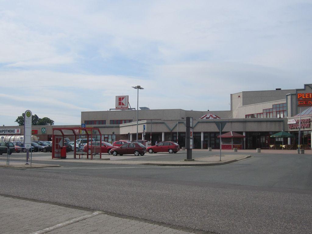Ansicht Einkaufscenter